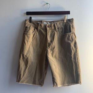 Khaki Mossimo Shorts W 32